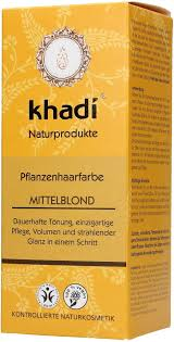 Khadi Tinte Vegetal Rubio Medio 100 G Ecco Verde Tienda Online