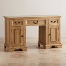 contemporary solid oak computer desk in edinburgh natural by furniture land