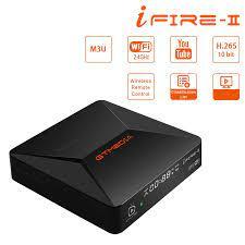 New generation TV box GTMEDIA Ifire 2 Full HD 1080P, H.265 HEVC 10bit/CPU  70MHz Dual/BT remote control/ internet set top box|Set-top Boxes