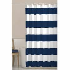 navy blue and grey shower curtain. maytex porter navy blue stripes fabric shower curtain and grey