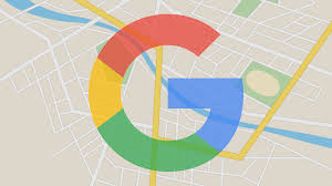 google testing purple ad label in maps