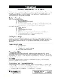Examples Of Resumes For Jobs Objectives Sample Resume For Cashier