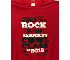 Class Of 2019 Embroidery Design Need Graduating Class T Shirts For Your School Contact Us