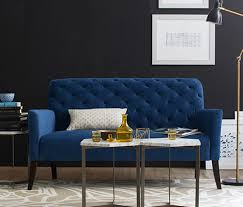 Couches for small spaces Cozy Small Space Tip West Elm Furniture For Small Spaces West Elm