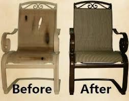 Sling Patio Furniture Repair in Las Vegas Henderson Southern Nevada