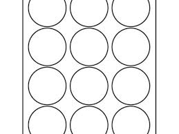 Avery Round Sticker Template Avery 5294 Template Gallery Template