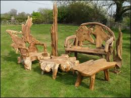Image Umbrella Benchsmall Collectionsmall Pine And Oak Furniture Garden Furniture Pine And Oak