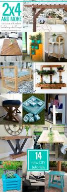 14 Amazing New Project Tutorials! All of these projects are built using and  other budget-friendly structural lumber, and they are perfect for your home,  ...
