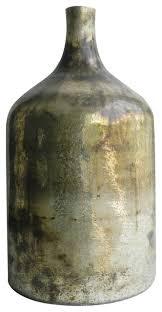 metallic vintage mercury glass vase 10 x18 farmhouse vases by fantastic decor llc