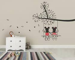 decorative tree wall art decals
