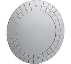 Buy Collection Round Mosaic Bathroom Mirror at Argos Your