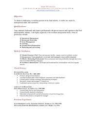 Your cv is your first chance to make an impression on the recruiter. Restaurant Functional Resume Sample Job Resume Examples Restaurant Resume Functional Resume