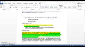 how to write a body paragraph for a literary analysis essay