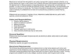 Phlebotomy Resume Templates Entry Level Resume Sample Resume Nice ...