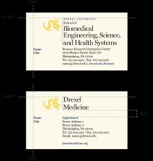 Colleges Schools Stationery Identity Drexel University