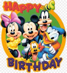 mickey mouse birthday cake cartoon disney bday cliparts