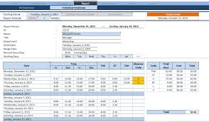 Timesheet Tracker Under Fontanacountryinn Com