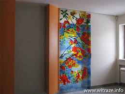 glass doors inpired by roland richardson painting basic designs for kitchen lovable 9