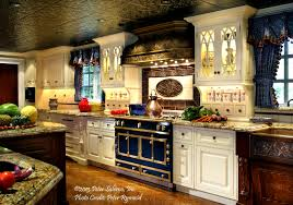Summer 40 Kitchen Design La Cornue Blends Color And Magnificent La Cornue Kitchen Designs