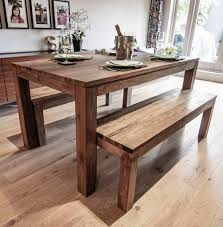 wooden dining furniture. Karang Reclaimed Table And Benches Wooden Dining Furniture I