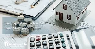 Pay House Off Early Calculator The Top Ways To Pay Off Your Mortgage Faster Mortgage Info