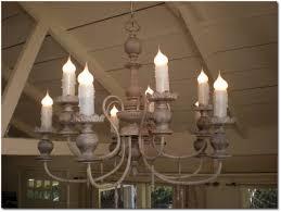simple rusty chandelier