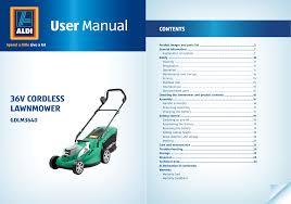 gardenline gdlm3640 owner s manual