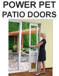 fully automatic patio pet doors