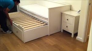 Ikea Hemnes Day Bed Trundle Guest Bed Stolmen Storage Design Before After