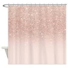 furniture lovely rose gold shower curtain 3 modern girly glitter ombr jpg color white height 460