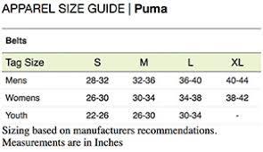 Puma High Flyer Cut To Length Belt Black