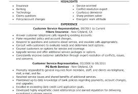It Skills Resume Inspiration Resume Objective For Customer Service Representative Skills Resumes