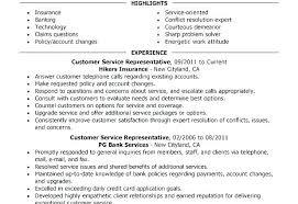Skills On A Resume Cool Resume Objective For Customer Service Representative Skills Resumes