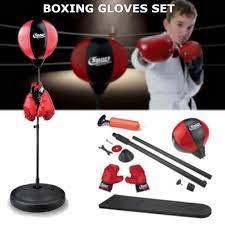 Đồ Chơi Đấm Bốc Cho Bé, Bóng tập phản xạ, tập cơ tay tại nhà, dụng cụ tập đấm  bốc, bộ đồ chơi tập boxing cho bé