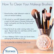 did you know that dirt oil and bacteria can get stuck in the bristles of makeup brushes leading to clogged pores and blemishes washing your make