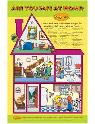 home safety education kit for head start i m safe home safety poster ldquo