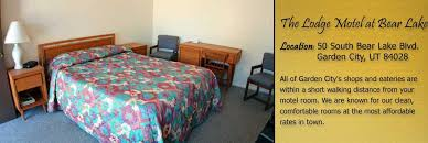 garden city motels.  Garden The Lodge At Bear Lake Utah Offers Clean Rooms The Most Affordable Rates  In Town And Garden City Motels S