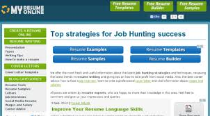 Free Resume Sites Extraordinary 28 Best Free Online Resume Builder Sites To Create Resume CV