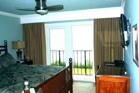 sliding glass door curtains top