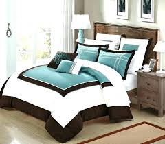 teal and white comforter set brown and white comforter white comforter sets queen white and gold bedding chocolate brown comforter set queen king