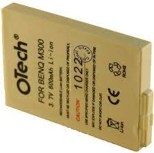 Otech Batterie kompatibel für BENQ M300 ...