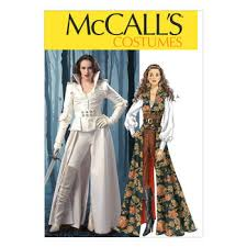 Mccalls Pattern Extraordinary McCall's Pattern M48Collared Coat Top Corset and Belt JOANN