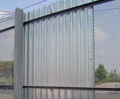 solid metal fence panels. Metal Fence Ideas. Black Corrugated Panels Spectacular Ideas Solid G