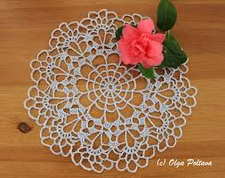 Easy Doily Pattern Custom Inspiration Design