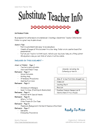 Bunch Ideas Of Long Term Substitute Teacher Resume Substitute