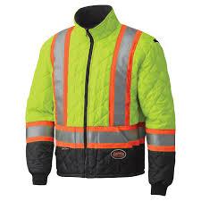 pioneer jacket. hi-viz quilted freezer jacket pioneer n