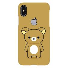 Teddy Bear Design Cute Teddy Bear Design Cover Iphone X Logo Cut