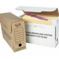 Paper filing boxes Everythingdigital Tidy Files Folio Archive Box No Clip Kraft Mcs Office Supplies Tidy Files Archive And Storage Boxes Huge Range Available