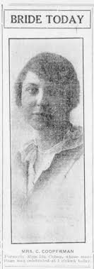 Ida Cohen Coppelman (Sam Cohen's youngest sister), photo 1914 -  Newspapers.com