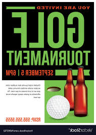 Golf Tournament Flyer Template Free Golf Tournament Flyer Template Ideas Vector Cultracing